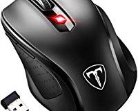VICTSING Mini Maus kabellos Wireless Mouse, 2.4G