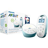 Philips Avent SCD560-00 Audio-Babyphone mit DECT-Technologie Smart Eco Mode, Gegensprechfunktion, blau