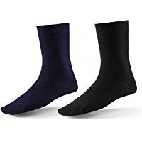 10 Paar Socken von Mat & Vic's f&uuml,r Sie und Ihn - Cotton classic bequem ohne dr&uuml,ckende Naht - angenehmer Komfort-Bund -